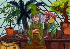 professor Sprout by *Agatha-Macpie