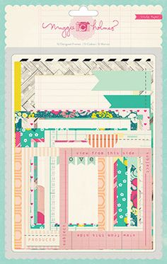 SALE 25 OFF  Maggie Holmes  Crate Paper  Flea by SharBearCrafts, $4.50