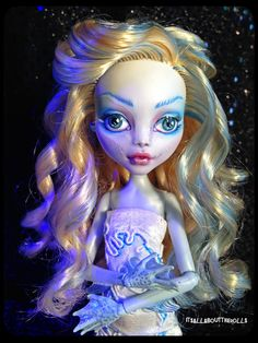 OOAK Custom Lagoona Monster High doll by allaboutthedolls on Etsy