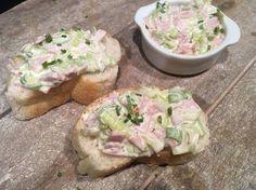 Lekker eten met Marlon: Ham-prei salade voor op brood of toast