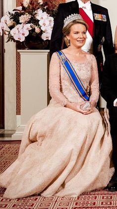 Queen Maxima, Queen Mathilde, Princess Laurentien, Princess Beatrix, Princess Margriet
