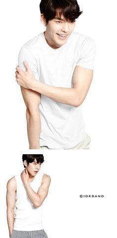 Kim Woo Bin for 'Giordano'