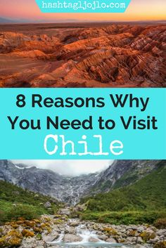 Chile is an absolutely beautiful country. I'll tell you 8 reasons why you need to add Chile to your bucket list and why we loved it so much. Make sure you add these things to do in Chile to your travel board so you can find it later!