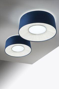 Axo Light Velvet Ceiling Lamp