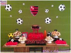 Karla Milani - Party Designer: Festa Flamengo