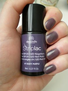 Striplac Dusty Purple Beauty Nails, Beauty Makeup, Dusty Purple, Uv Led, Nail Polish, Make Up, Sport, Style, Manicure