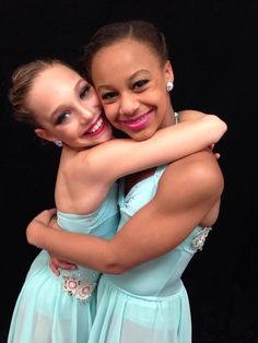 Dance Moms Maddie and Nia