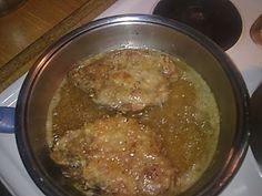 Χοιρινές μπριζόλες το κάτι άλλο !!! ~ ΜΑΓΕΙΡΙΚΗ ΚΑΙ ΣΥΝΤΑΓΕΣ Garlic Butter Noodles, Buttered Noodles, Greek Recipes, Pork Chops, Beef, Chicken, Cooking, Food, Template