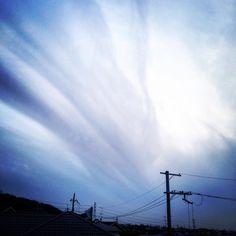 日曜日の曇り空  久しぶりにいつもの丘の上から  #lofifilter by jntama61