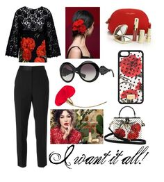 """""""I want it all!"""" by corrinekrn ❤ liked on Polyvore featuring Dolce&Gabbana"""
