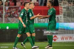 (L-R) Mimoun Mahi of FC Groningen, Tom van Weert of FC... #weert: (L-R) Mimoun Mahi of FC Groningen, Tom van Weert of FC Groningen,… #weert