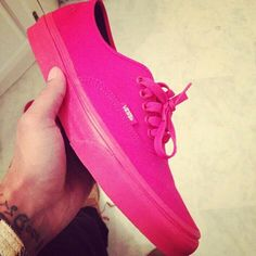 c1ec022598a These shoes are cute especially for people who like to rock white pants  just add a · All Red VansPink ...