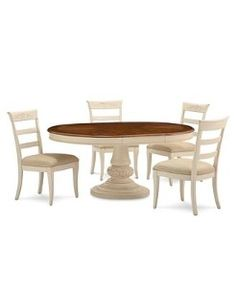 mandara dining room furniture collection; sample only at macy's in