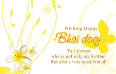 Bhai Dooj is festival of prayers from sister to brother, brother's protection for her sister. May this year we all celebrate it with even more love and protection for our sisters and brothers.  #HappyBhaiDooj