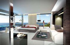 New master fashionable bedroom design