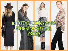 SPECIAL PRICES ZARA 10 TOTAL LOOKS