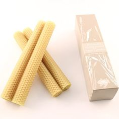 "100% Beeswax Candles - Set of Four - 8"" Tapers in NATURAL - Comes Packaged in a Beautiful Gift Box, http://www.amazon.com/dp/B004QW40S6/ref=cm_sw_r_pi_awdm_BE5jub0K78QNE"