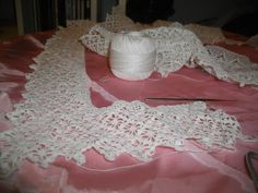 """Donna shares, """"I think all of my handmade gifts have a spirituality about them. Crochet Art, Thread Crochet, Crochet Patterns, Lace Shorts, Flower Girl Dresses, Wedding Dresses, Handmade Gifts, Vintage, Fashion"""