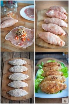 Pork loin stuffed with peppers and mushrooms – Chicken Recipes Pork Recipes, Chicken Recipes, Healthy Recipes, Easy Cooking, Cooking Recipes, Plats Ramadan, Good Food, Yummy Food, Food Platters