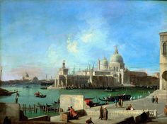 Canaletto - View of Santa Maria della Salute from the Entry of the Grand Canal