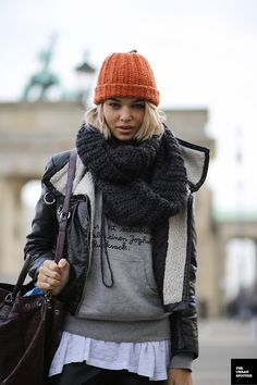 theurbanspotter:  On the Street…..All the Pretty Models View Post