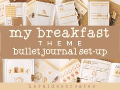 Coffee Theme Bullet Journal Set-up | Heraldeecreates Bullet Journal For Beginners, Creating A Bullet Journal, Bullet Journal Set Up, Bullet Journal Cover Page, Bullet Journal Themes, Journal Covers, Bullet Journal Inspiration, Book Journal, Bullet Journal Watercolour