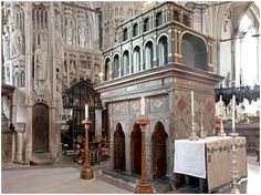 The tomb and shrine of Saint Edward the Confessor, Westminster Abbey