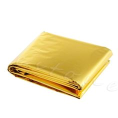 Waterproof Emergency Survival Foil Thermal Rescue Blanket First Aid