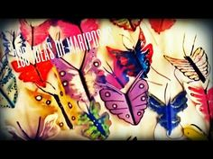 MARIPOSAS FACILES DE HACER ( decora tu jardín) Luz Mireya Martinez - YouTube