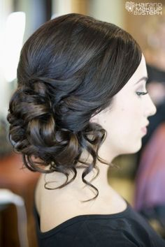 Strikingly Gorgeous Side Updo Wedding Hairstyles