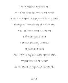 Beautiful depressive poems. #poetry