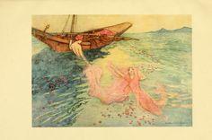 """Folk Tales of Bengal"". Artwork by Warwick Goble (1862-1943). English illustrator of children's books."