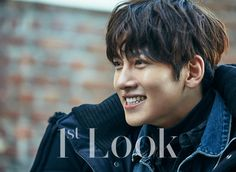 "Even in the gray city, his gaze that is filled with diverse narratives is shining with a strong presence. The deep charisma of actor Ji Chang Wook, who is back with his movie ""Fabricated City… Hot Korean Guys, Korean Men, Korean Actors, Ji Chang Wook Healer, Fabricated City, Look 2017, The Boy Next Door, Look Magazine, Men Photography"