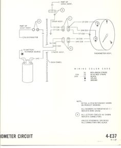 Details about mustang alternator wiring big block with tach 1967 1967 mustang wiring to tachometer 1968 mustang wiring diagrams cheapraybanclubmaster Choice Image