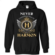 5 Never New HARMON - #love gift #zip up hoodie. CHECK PRICE => https://www.sunfrog.com/Camping/HARMON-Black-90649562-Hoodie.html?60505