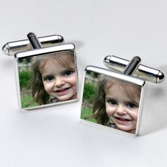 Personalised Photo Cufflinks  from Personalised Gifts Shop - ONLY £19.95