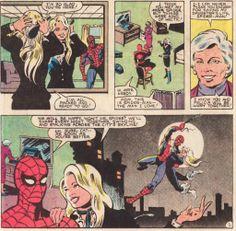 Spider-Man meets Black Cat's mother.