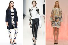 The 10 Most Wearable Spring 2014 Fashion Trends, Straight Off the Runway | Collarless Coats | NYFW Spring 2014