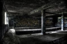 Urban Exploration - Photos of an abandoned cement factory in Germany.