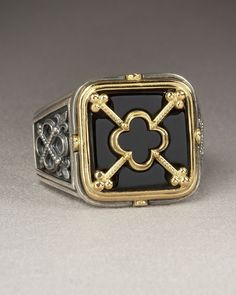 Obsessed with this Konstantino men's ring