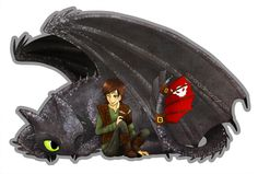 HTTYD - Toothless and Hiccup. by nat-ong.deviantart.com on @deviantART