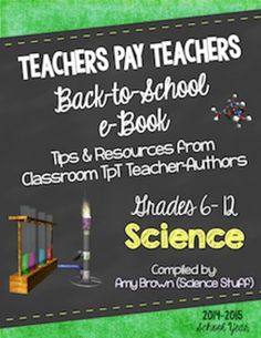 Back to School Science eBook for Grades 6-12 (2014-15 school year)