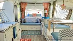 Tracy's Pop Up Camper Makeover - The Pop Up Princess