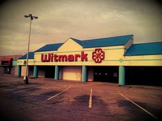 Witmark building still stands off of Plainfield - empty, of course.