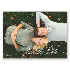 As the two of you start down the path to your dream day, choose a modern photo save the date postcard!