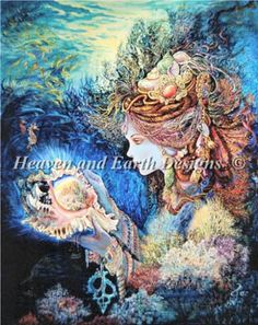 Daughter Of The Deep, Josephine Wall Photo: This Photo was uploaded by HAED-Gallery. Find other Daughter Of The Deep, Josephine Wall pictures and photos. Josephine Wall, Art Expo, Earth Design, Goddess Art, Wow Art, Illustrations, Fantasy World, Amazing Art, Amazing Paintings
