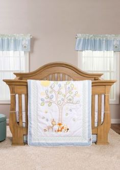 trend lab forest tales crib bedding