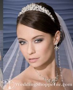 Bel Aire 6022: Shop for the perfect Bel Aire bridal headpieces online today!