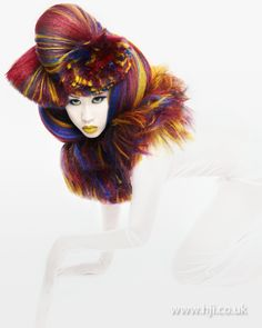 Anne Veck: Avant Garde Hairdresser of the Year 2010 finalist