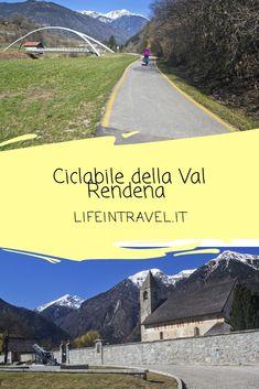 La ciclabile della Val Rendena in bicicletta ✨ #lifeintravel #trentino Tours, Mtb, Travel Ideas, Places To Go, Italy, Bike, Nature, Biking, Places